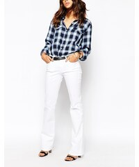 7 For All Mankind - Jean bootcut - Blanc pur - Blanc