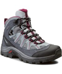Trekingová obuv SALOMON - Authentic Ltr Gtx GORE-TEX W 373261 Pearl Grey   8abdbdf1593