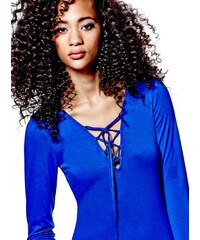 G by Guess Body Emerald Lace-Up Bodysuit