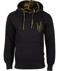 Hoodboyz Hoodie black camouflage