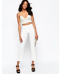 Glamorous - Schmale Hose - Weiß