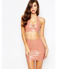 House Of Harlot - Bambi - Soutien-gorge en latex - Beige