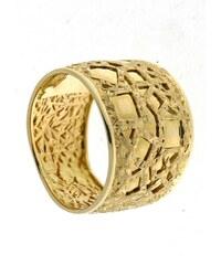 firetti Ring im Verlauf, Oberfläche mit mattierter Struktur und glänzenden Elementen