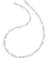 firetti Halsschmuck: Halskette in Figarokettengliederung, diamantiert