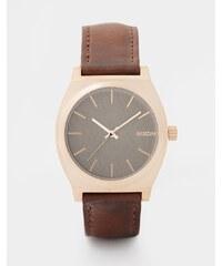 Nixon - Time Teller A045 - Armbanduhr - Braun