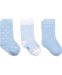 GANT Lot De 3 paires De Chaussettes Pour Nouveau-né - Sea Blue
