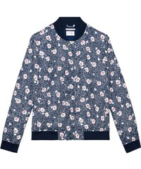 GANT Rugger Veste Aviateur à Fleurs - Evening Blue