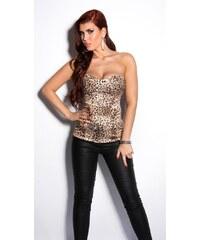 Koucla Korzet dámský - leopard