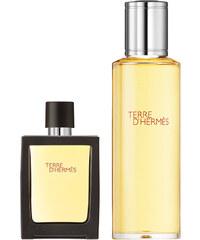 Hermès Terre d´Hermès 121 g - Eau de Parfum Refillable Spray + Refill Bottle Sada vůní 1 ks