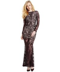 Guess by Marciano Šaty Maria Lace Long Dress