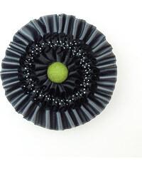 MORROWS HONNOR M - ocelovo-zelená
