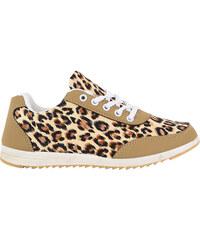 Lesara Sneaker mit Leo-Print - 37