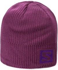 Pánská čepice SALOMON - Beanie L37558000 Aster Purple