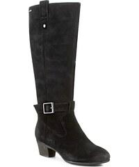 Stiefel CLARKS - Melanie Hi GTX 261115064 Black Nubuck