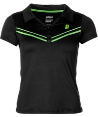 Sportovní polokošile Prince Tennis dám. černá/zelená