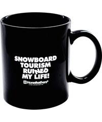 HORSEFEATHERS Horsefeathers keramický hrnek Snowboard Tourism Ruined My Life 0,25 l