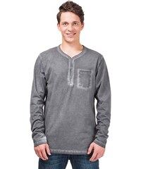 HORSEFEATHERS Horsefeathers triko Mill L/S (washed gray)