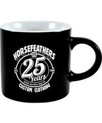 HORSEFEATHERS Horsefeathers keramický hrnek 25HF 0,3 l (black)