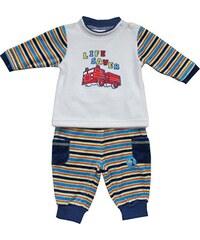 Schnizler Baby - Jungen Jogginganzug Nickianzug, Freizeitanzug Feuerwehr