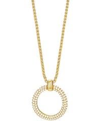 Esprit Halskette, mit Zirkonia, »ESPRIT-JW50059 gold, ESNL03009B420«