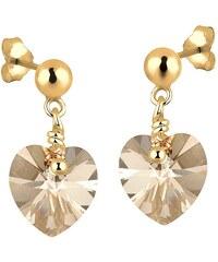 Goldhimmel Paar Ohrstecker mit Swarovski® Kristallen, »Jane, 0304622412«