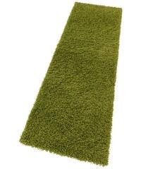 Bruno Banani Hochflor-Läufer Shaggy 50 Höhe 50 mm maschinell getuftet grün 11 (B/L: 67x230 cm),13 (B/L: 90x250 cm)