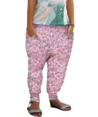 Haremshose aus weich fließender Viskose für Mädchen KIDOKI rosa 92,98,104,110,116,122,128,134,140