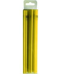ZAK! designs - Mini brčka na jednorázové použití 50ks set-žluté, 5*150mm 27g/100pcs (1530-700)