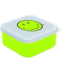 ZAK! designs - Smiley čtvercový svačinový Box L, 12 x 12 cm, zelená/bílá (6662-0403)