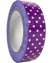 KERSTEN - Dekorativní páska fialová,textil, 5m 6x2x8,5cm bal/1ks (LEV-5158)