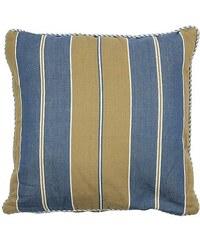 MARIEKE - Povlak na polštář Mattress pruh.modrý khaki 50 x 50 cm (50040022)