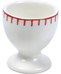 MARIEKE - Kalíšek na vajíčko Sophie se stehem, červená keramika (50011009)