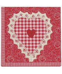 MARIEKE - Ubrousek Sarah, papír, červený 20 ks (50067003)