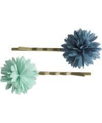 Maileg Pinetky do vlasů Chiffon Flowers - Aqua