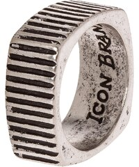 Icon Brand TIME SQUARED Ring silvercoloured
