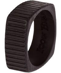 Icon Brand TIME SQUARED Ring black