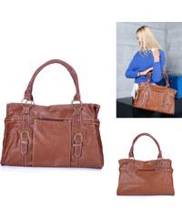 Lesara Handtasche mit Zier-Schnallenriemen