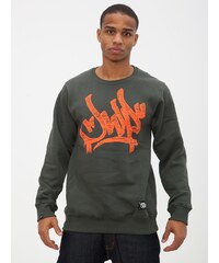 JWP Colorized Tager Crewneck Army Green