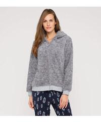 C&A Pyjamajacke in Grau