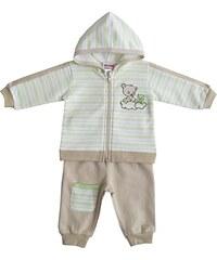 Schnizler Unisex Baby Jogginganzug Interlock Teddy und Frosch