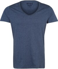 Review T Shirt mit V Neck