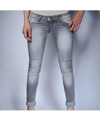 Klixs Jeans Slim džíny v šedé barvě, Barva světle šedá, Velikost 38