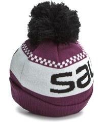 čepice SALOMON - Junior Logo Beanie L37567300 Aster Purple