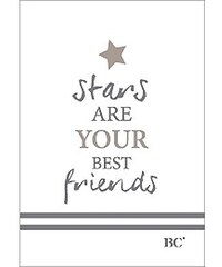 """Bastion collections - Sešit A6 """"Stars are your best friends"""" (BC-NOTEBOOK-A6-006)"""