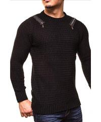 Pánský svetr se zipy CRSM černý