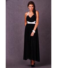 Dámské plesové společenské dlouhé šaty EMAMODA černé