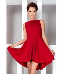 S-a-F SHIM.cz dámské šaty exkluzivní vyrobené z vysoce kvalitního materiálu Lacoste červené