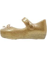 Melissa MINI BALLET Riemchenballerina gold glitter