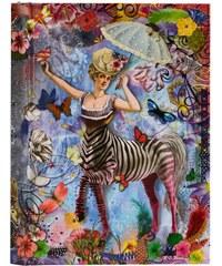 Lacroix - Zebra Girl Notizbuch für Unisex
