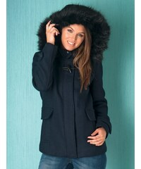 FROCK AND FRILL Tmavě modrý krátký kabát